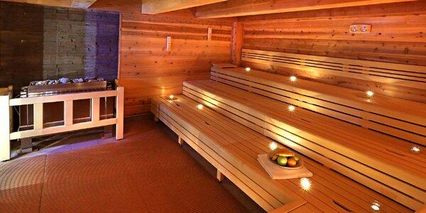 Neomezený vstup do saunového světa Saunia Hradec