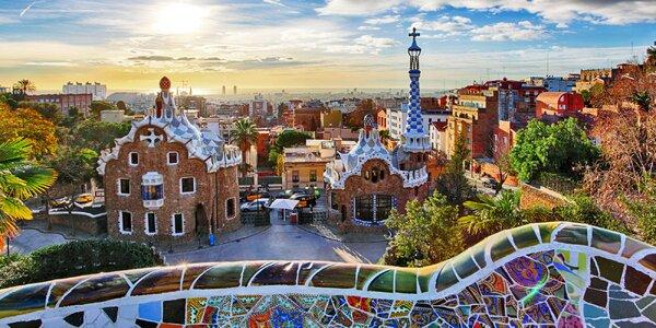Letecky do Barcelony: 3 noci v hotelu i průvodce