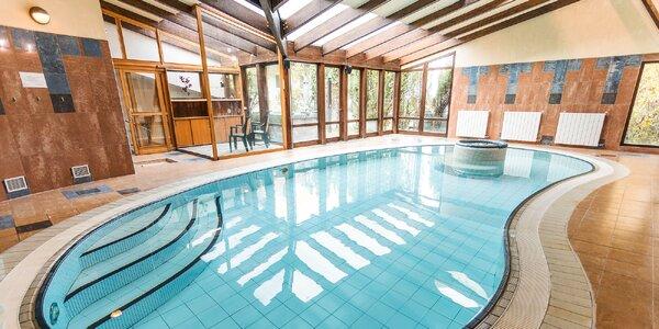 Kouzelný pobyt s neomezeným vstupem do bazénu i sauny