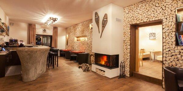 Rakouské Alpy: zázemí českého hotelu, polopenze i relax