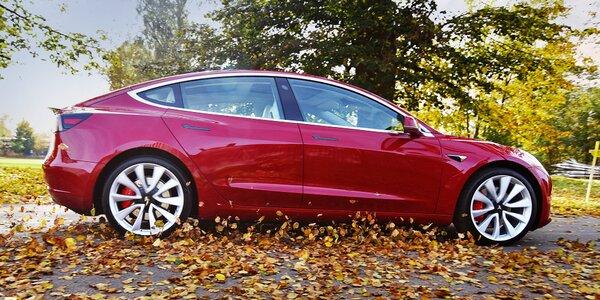 Jízda v luxusním elektromobilu Tesla Model 3