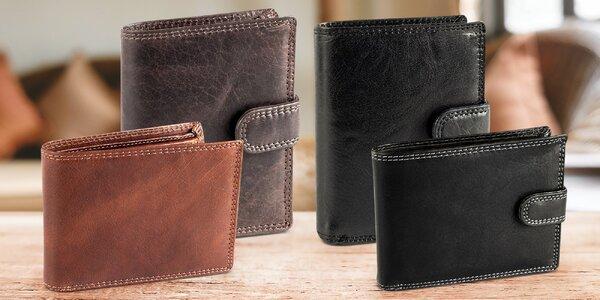 Pánské peněženky z pravé buvolí kůže