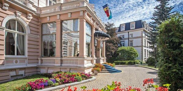 Pobyt v Karlových Varech s neomezeným wellness