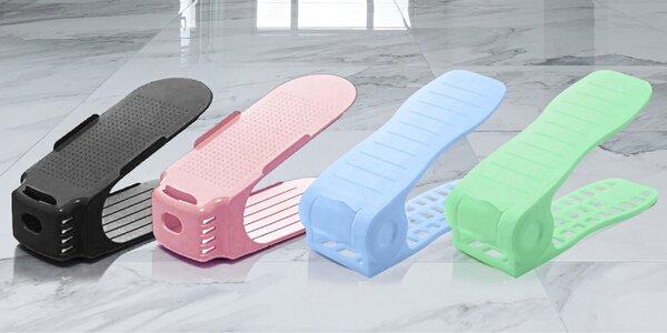 Ušetří 50 % prostoru v botníku: stojany na boty