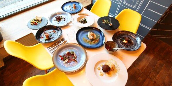 Luxusní degustační menu o 11 chodech pro 2 osoby