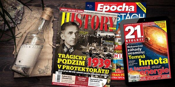 Předplatné History revue a el. verze 21. století
