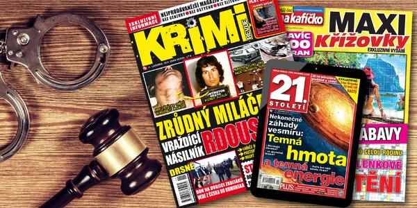 Předplatné Krimi Revue a el. verze 21. století