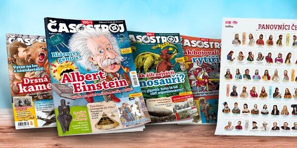 Kompletní ročník 2019 dětského magazínu Časostroj