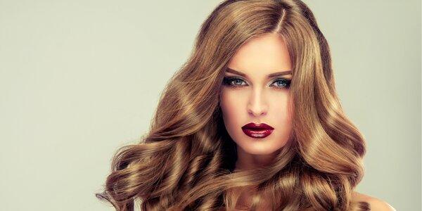 Střih i barvení pro polodlouhé či dlouhé vlasy