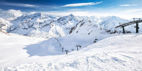Jednodenní lyžování v Itálii vč. dopravy a skipasu