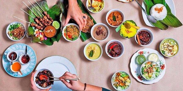 Všechny chutě Indonésie: degustační menu pro dva