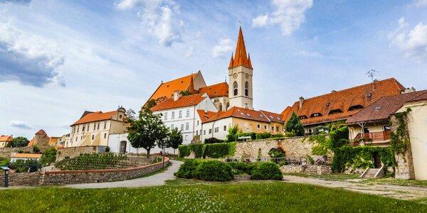 Pobyt na jižní Moravě s jídlem i degustací vína