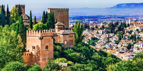 Letecky do Andalusie: 6 nocí se snídaní a výlety