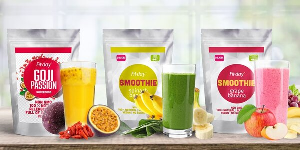 Proteinové smoothie: ovoce, zelenina i superfood