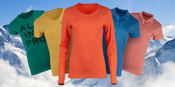 Dámská trika Alpine Pro s dlouhým i krátkým rukávem