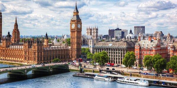 Londýn a střední Anglie: 3 noci v hotelu, doprava