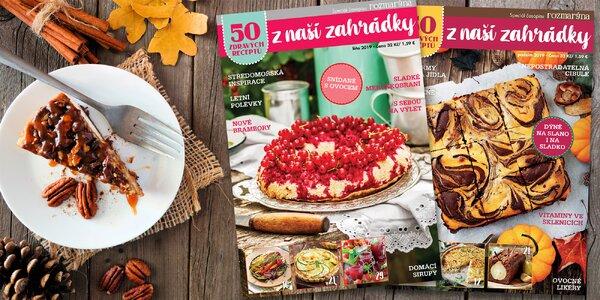 Předplatné 50 zdravých receptů z naší zahrádky
