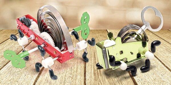 Designové mechanické hračky na klíček či pérko