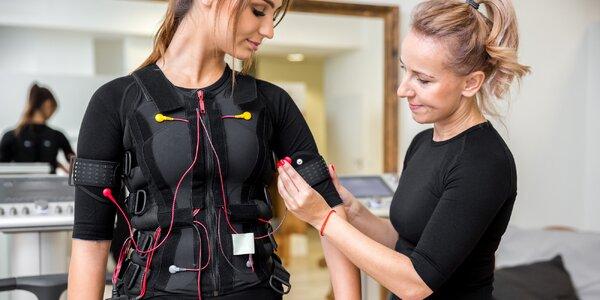 Intenzivní trénink za pomoci EMS a hra Beat Saber