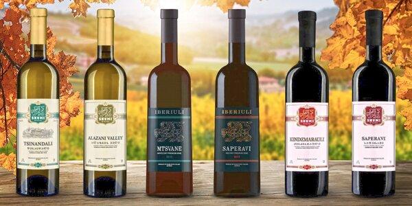 Kvalitní vína z Gruzie: suchá, polosladká, kvevri