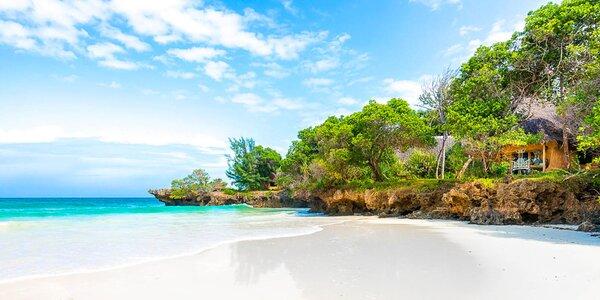 Korálové útesy Diani Beach. 5* resort s plnou penzí