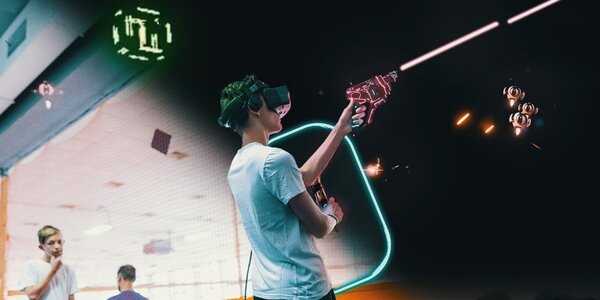 Vstupte do virtuální reality: 60 až 120 min.