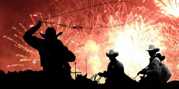 Nezapomenutelný silvestr plný kovbojské zábavy