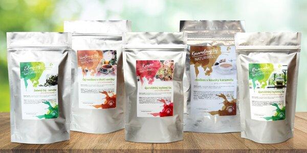 Voňavé sypané čaje Naturwell různých druhů