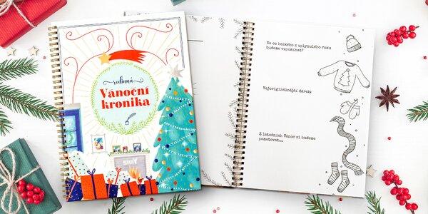 Vánoční rodinná kronika na 20 let vzpomínek