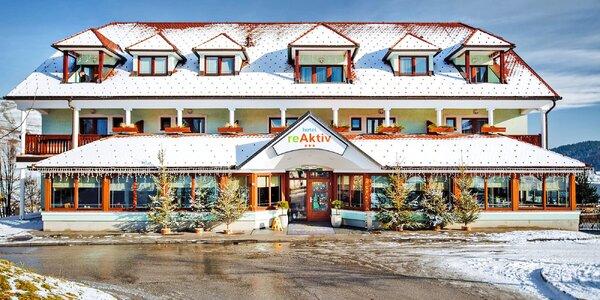 Pobyt ve slovinských Alpách se skipasem i saunou