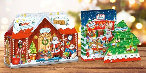 Sladký advent: kalendáře Kinder, Haribo, Toblerone