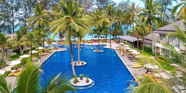 5* X10 Khaolak Resort v Thajsku se snídaní
