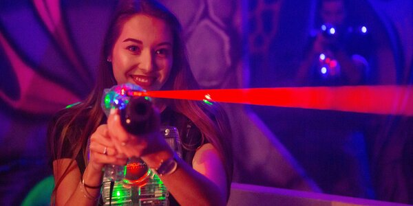 Laser game v Hamleys: celá aréna až pro 14 osob