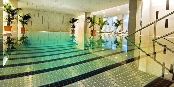 Relax v lázeňském hotelu se saunou i bazenénem