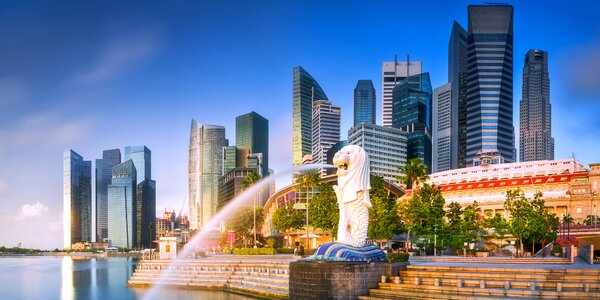 Letecký zájezd do Singapuru: 4 noci a průvodce