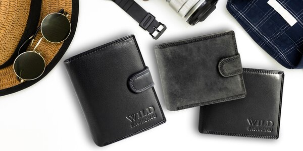 Pánské kožené peněženky v dárkové krabičce