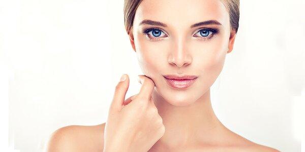 Kompletní kosmetické ošetření s LED maskou
