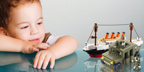 Stavebnice Sluban: model Titanicu i obrněného auta