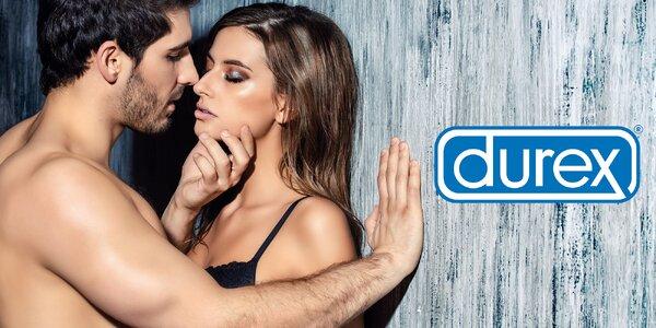 Balíčky kondomů Durex: mix až 66 kusů s dárkem