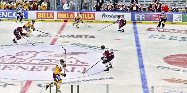 VIP lístek na domácí utkání HC Sparta Praha