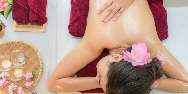 Relaxace i úleva: aroma masáže 30 či 60 minut