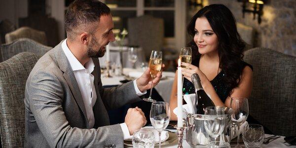 Romantický kulturní večer: hudba, večeře i víno