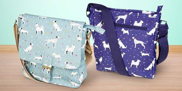 Tašky, kabelky a batohy s potiskem pejsků