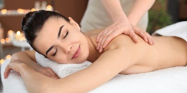 70 minut relaxu: nejluxusnější masáže Salonu Elite