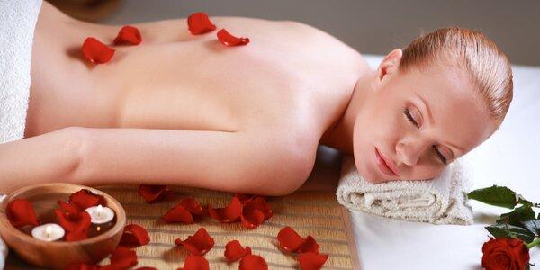 100 minut voňavého hýčkání s masáží a lázní
