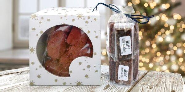 Zdravé dobroty myBite vč. vánočního cukroví