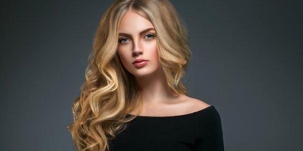 Střih vlasů s arganovým zábalem pro všechny délky