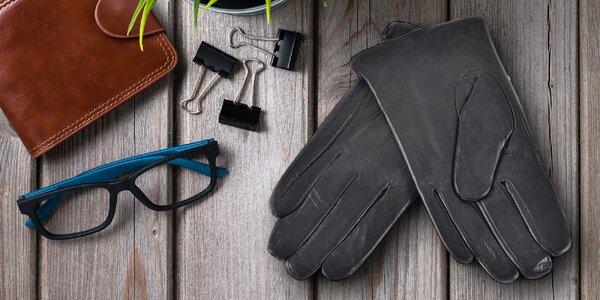 Pánské kožené rukavice ve velikostech XL a XXL