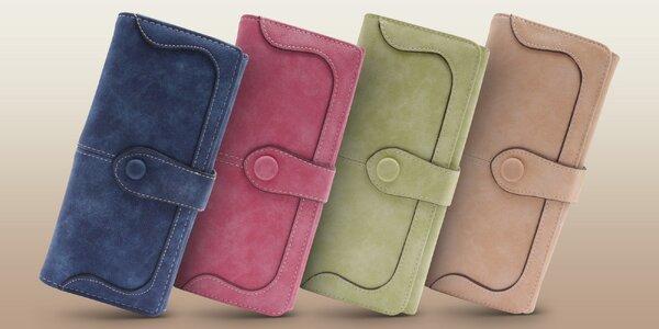 Kvalitní dámské peněženky z eko kůže