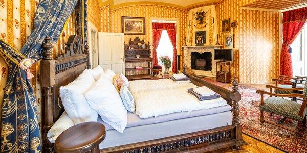 Romantika v královských komnatách zámku Letovice